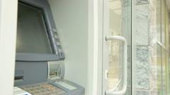ATM Machine Stock Footage