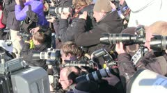 Photographers Stock Footage