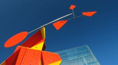 Germany Stuttgart Kunstmuseum Museum of Art Stock Footage