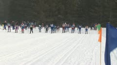 Ski Race Stock Footage
