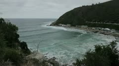 Victoria Bay,Western Cape,South Africa Stock Footage