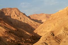 dead sea mountain - stock photo