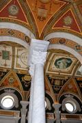 Stock Photo of interior of library of congress, washington dc,usa