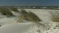 Beautiful Baltic Sea Beach - Northern Germany Stock Footage