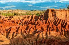 Red Desert Hills - stock photo