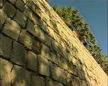 Venetian wall in Nicosia southern Cyprus Stock Footage