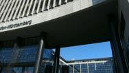 Stock Video Footage of Germany Stuttgart Landesbank Baden-Württemberg LBBW