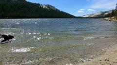 Yosemite 34 Tenaya Lake - stock footage