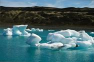 "Stock Photo of Ice in Glacier Lagoon ""Jökulsarlon"" in Iceland"