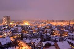 Stock Photo of night city