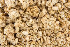 Stock Photo of crunchy musli