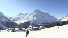 Lech am Arlberg Stock Footage