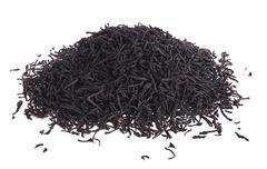 loose leaf black tea - stock photo