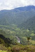 The rio cosanga on the eastern slopes of the andes in ecuador Stock Photos