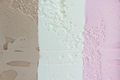 tricolor icecream - stock photo