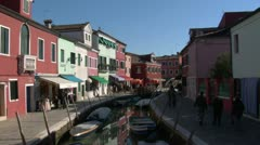 Burano 02 Stock Footage