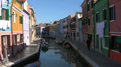 Burano 03 Stock Footage