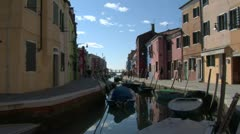 Burano 04 Stock Footage