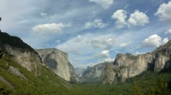 Yosemite 50 Timelapse Tunnel View - stock footage
