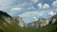 Stock Video Footage of Yosemite 50 Timelapse Tunnel View