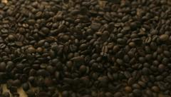 Coffee bean, Slow Motion - stock footage