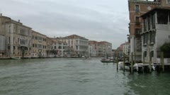 Canal Grande 11 Stock Footage