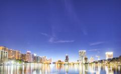 Orlando at Night Stock Photos