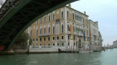 Canal Grande 13 - stock footage