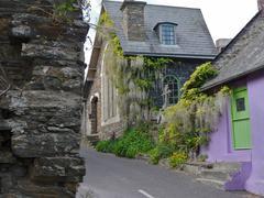 Kinsale cottages  - stock photo