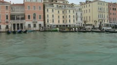 Stock Video Footage of Canal Grande 14