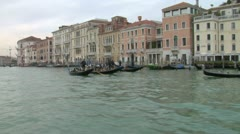 Canal Grande 15 Stock Footage