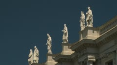 Natural History Museum in Vienna, Austria Stock Footage
