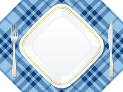 Dishware Stock Illustration