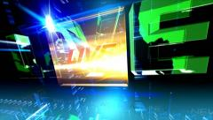 News.World.Live.Direct.Exclusive - stock footage