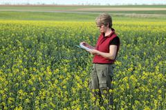 agronomy - stock photo