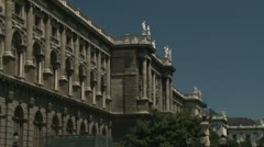 Vienna building Stock Footage