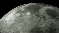 HD Render of the Earths Moon Stock Footage