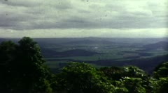 View from a Hill in Northern Queensland (1983 Vintage 8mm Film) Stock Footage
