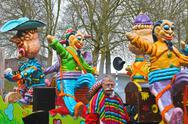 Stock Photo of annual winter carnival in gorinchem. february 9, 2013, the netherlands