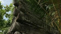 Nan Madol Ruins Stock Footage