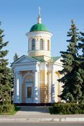 Dzerzhinsk. russia. a chapel in honor of the archangel michael Stock Photos
