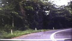 Travelling Along the Rex Highway in Queensland (1983  Vintage 8mm Film Footage) Stock Footage