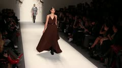 Cesar Galindo Runway NYFW Stock Footage