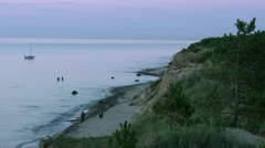 Summer Evening on Rügen Island - Baltic Sea, Northern Germany Stock Footage