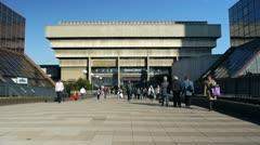 Old Central Library, Birmingham, England. Stock Footage