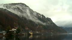 Lake Traunsee - Austria Stock Footage