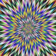 Stock Illustration of Psychedelic Crash