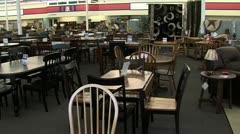Furniture Store Pan - stock footage