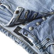 Blue jeans detail Stock Photos