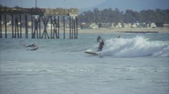 Surfers Point Clip 2 Stock Footage
